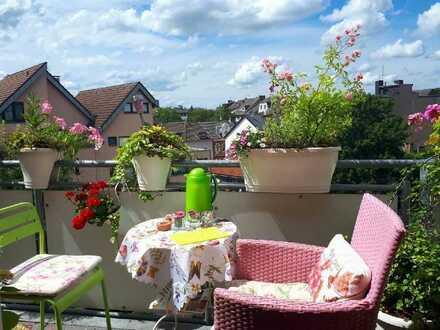 3-Zi DG-Whg. mit Balkon in Citylage Moers perfekt für Singles oder Paare