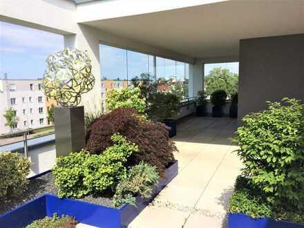"""Traumhafte Penthouse-Wohnung am """"Reesepark"""" mit luxuriöser Ausstattung und großer Dachterrasse"""