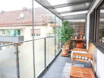 ++ Moderne 4-Zimmer-Wohnung in zentraler Lage mit 2 Balkonen ++
