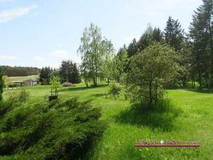 Grundstück 6057 m² groß mit viel Garten und schöner Wiese: GRÜN. GROSS. BEBAUBAR.