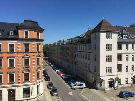 4 Zimmer auf dem Kaßberg mit abgeschlossenem Innenhof!
