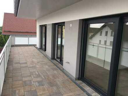 NEUBAU! 360°-Rundgang Penthouse-Wohnung mit Dachterrasse in Waldperlach