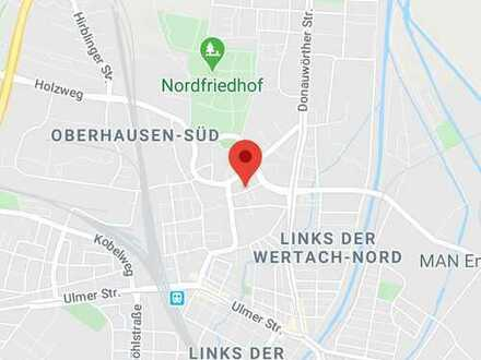 Sanierte 2-Raum-Wohnung in Augsburg