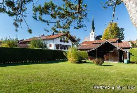 Sachsenkam - Bebaubares Grundstück inkl. 2-Fam.-Haus