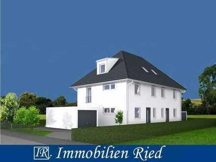 Warum Miete zahlen? Noch eine bezahlbare, neue Doppelhaushälfte in Röhrmoos!
