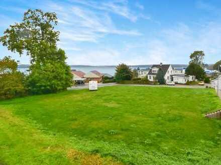 Großes Grundstück mit einer tollen Aussicht auf die Flensburger Förde