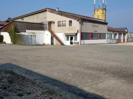 Büro-/Verkaufsfläche mit Werkstatt- und Lagerfläche in Tuningen zu vermieten