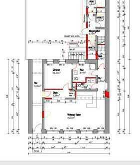 Erstbezug nach Sanierung! Attraktive 2 Zimmer Stadtwohnung mit großem Wohn- und Essbereich!