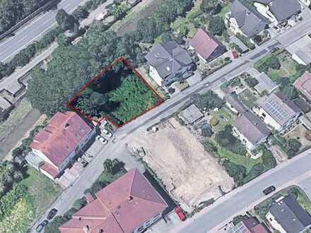 Großzügiges Baugrundstück für Einfamilienhaus, MFH oder 2 DHH