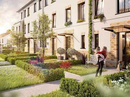 Reihenhaus mit Garten und exklusiver Dachterrasse vor den Toren Berlins