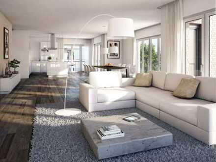 Wunderschöner Neubau-Wohntraum mit Einbauküche und großem Südwest-Balkon - mitten in Oberkassel