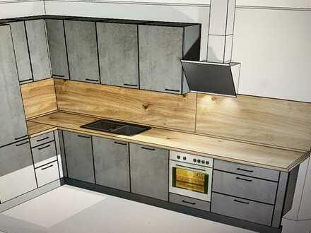 Schöne 2 Zimmer Wohnung wird neu renoviert in Gärtringen