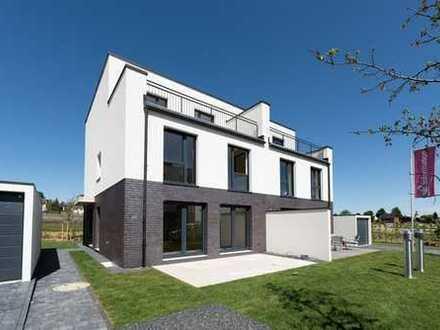 Modernes Traumhaus mit großem Garten
