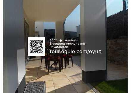 AS-Immobilien.com +++ 360 Grad Rundgang Komfort-Eigentumswohnung mit Liebe zum Detail - Privatgarten