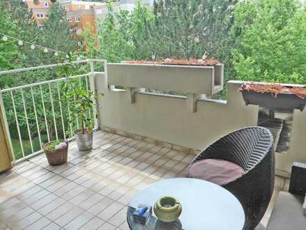 6132 - Geigersberg - sanierte 3,5-Zimmerwohnung mit großem Balkon in SW-Ausrichtung, TG-Stellplatz!