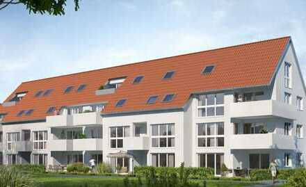 Große 2-Zimmer-Neubauwohnung im Herzen von Böckingen