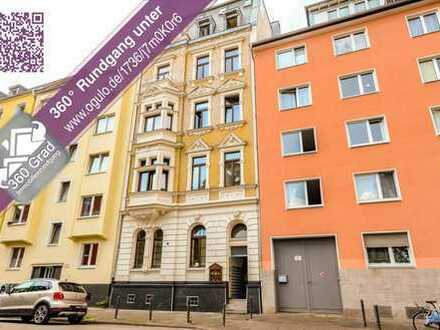 Projekt: Pfälzer Str. 5 in Neustadt-Süd * Möbliertes EG-Altbauapp. * 1 Zi. * ca. 36 m² * Laminat * D