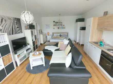 Wunderschöne, moderne 1-Zimmer-Wohnung mit Balkon in Potsdam