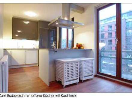 Stilvolle, geräumige und sanierte 3-Zimmer-Wohnung mit Balkon und EBK in St. Georg, Hamburg
