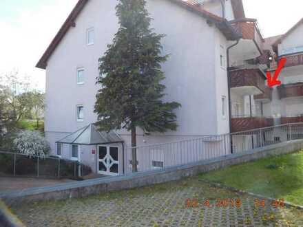 Senioren 1-Zimmer-Wohnung mit Balkon in Fichtenberg
