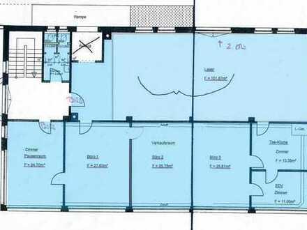 Gewerbefläche 230 m² ab sofort