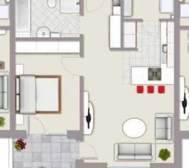 Schöne 2-Zimmer-Wohnung zur Miete in Schwandorf Klardorf - Erstbezug