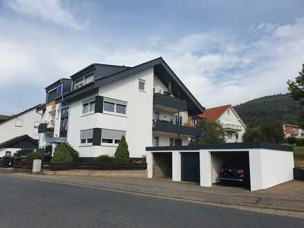 Sanierte 3-Raum-Wohnung mit Terrasse und Gartenbenutzung in Bürgstadt