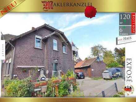 +++ Preisreduzierung +++ schönes Zechenhaus mit Garten in verkehrsgünstiger Lage, Garten, Garage...
