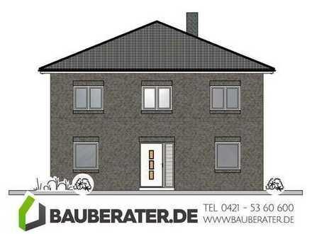 Traditionell und modern. Stadtvilla Neubau