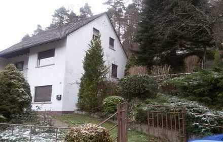 Einfamilienhaus mit ELW am Sonnenhang mit zusätzlichem Baufenster