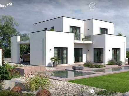 Modernes Design Haus mit zeitloser, eleganter Architektur / Bauhausstil