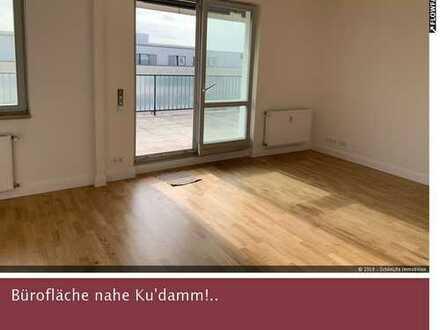 Exklusives Büro nahe Ku'damm *gr. Terrasse / neu saniert*