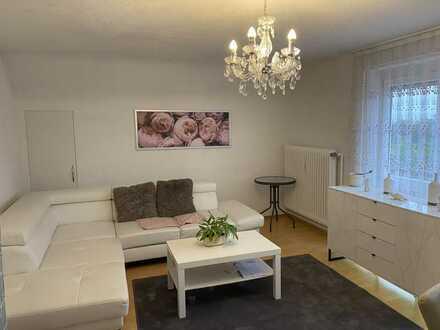 Gepflegte 3-Zimmer-DG-Wohnung mit Balkon und Einbauküche in Haigerloch