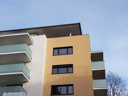 ERSTBEZUG: schöne 2 - Zimmer - Neubauwohnung mit großem Südwest - Balkon in Schwendi