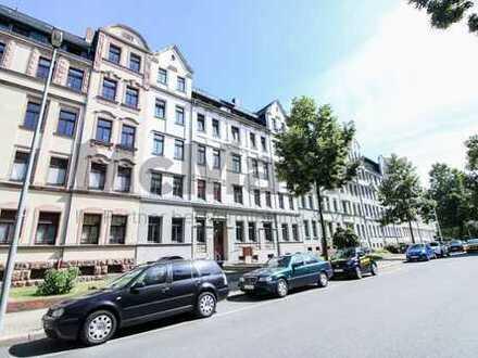 Sicher vermietete Kapitalanlage: 3-Zi.-ETW mit Terrasse in Chemnitz-Hilbersdorf