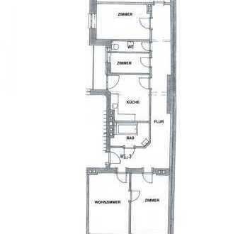Altbau-Wohnung (4-Zimmer) in München-Stadtmitte provisionsfrei vom Eigentümer zu vermieten