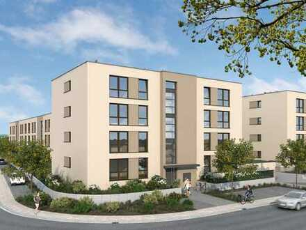 Im Bau: Tolle 3-Zimmer-Wohnung in Kenzinger Wohnanlage mit Wassergarten