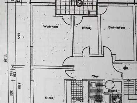 Gepflegte 4-Zimmer-Wohnung mit Balkon in Schwalbach am Taunus für eine Familie
