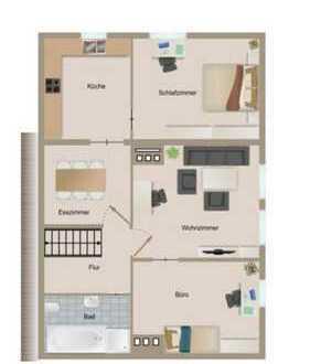 Haus mit zwei Wohneinheiten zu vermieten