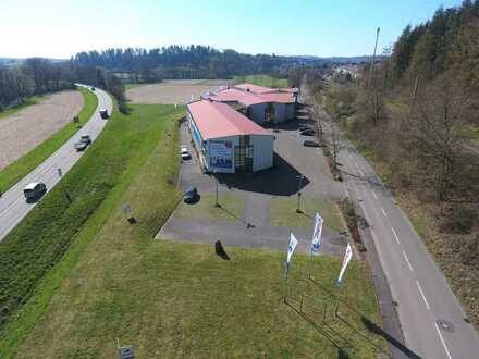 Bammental - Nähe Heidelberg - Direkt an der B45 - 10.300 m² - Fachmarkt Produktion Werkstatt Lager