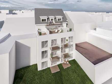 Genießen Sie viel Freiraum und Wohnqualität in Ihrer großen 3-Zi.-Wohnung mit Balkon und Terrasse