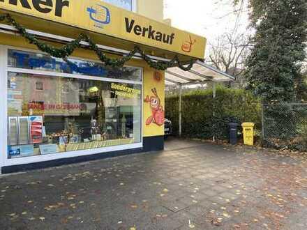 Ladenlokal mit Werkstatt und Gartengrundstück in Zentraler Lage