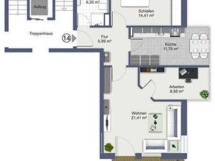 Helle 2,5-Zimmerwohnung mit optimaler Raumaufteilung in Dachau!