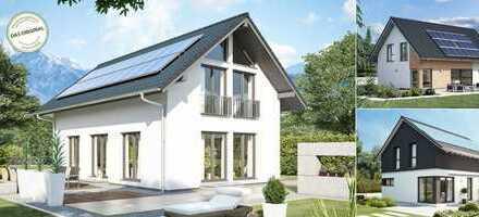 Wunderschönes Einfamilienhaus in kompakter bauweise für die kleine Familie. Natürlich als KfW40-Haus