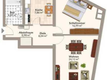 SANIERTE 2-Zimmer Wohnung