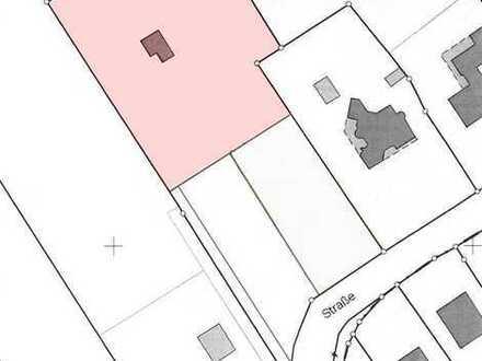 Freizeitgrundstück mit Blockhütte, Teichanlage und Doppelgarage in Westoverledingen, OT. Flachsme...