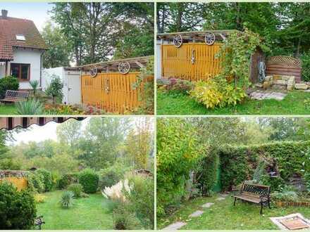 Große Doppelhaushälfte mit Garten in ruhiger Lage in Siebeldingen bei Landau.