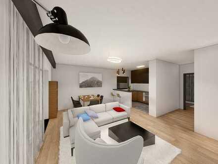 Neubau 3 Zimmer Wohnung mit Terrasse und Garten