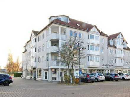 Vermietete 2-Zimmer-Wohnung in Speichersdorf, modernes Wohnhaus am Marktplatz!
