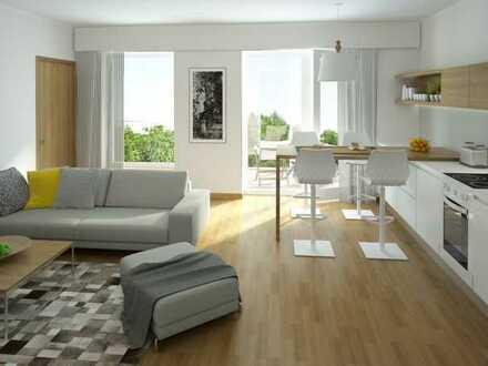 Neubau-Erstbezug: 2-Zimmer Wohnung mit gigantischer Dachterrasse!